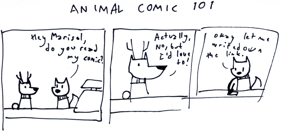 Animal Comic 101