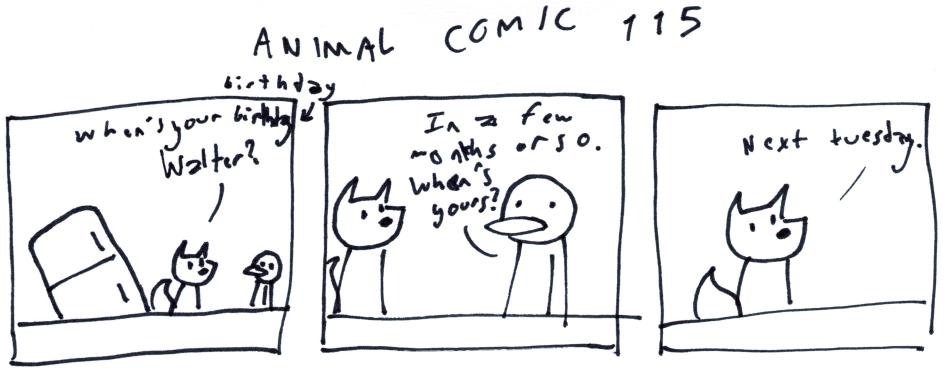 Animal Comic 115