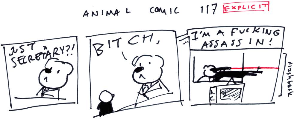 Animal Comic 117