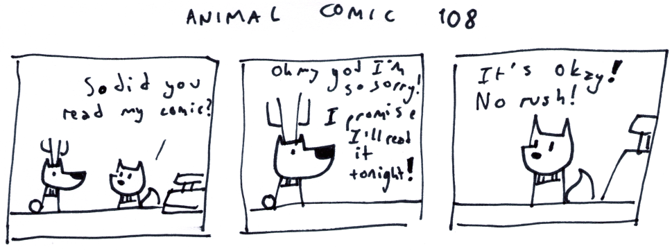 Animal Comic 108