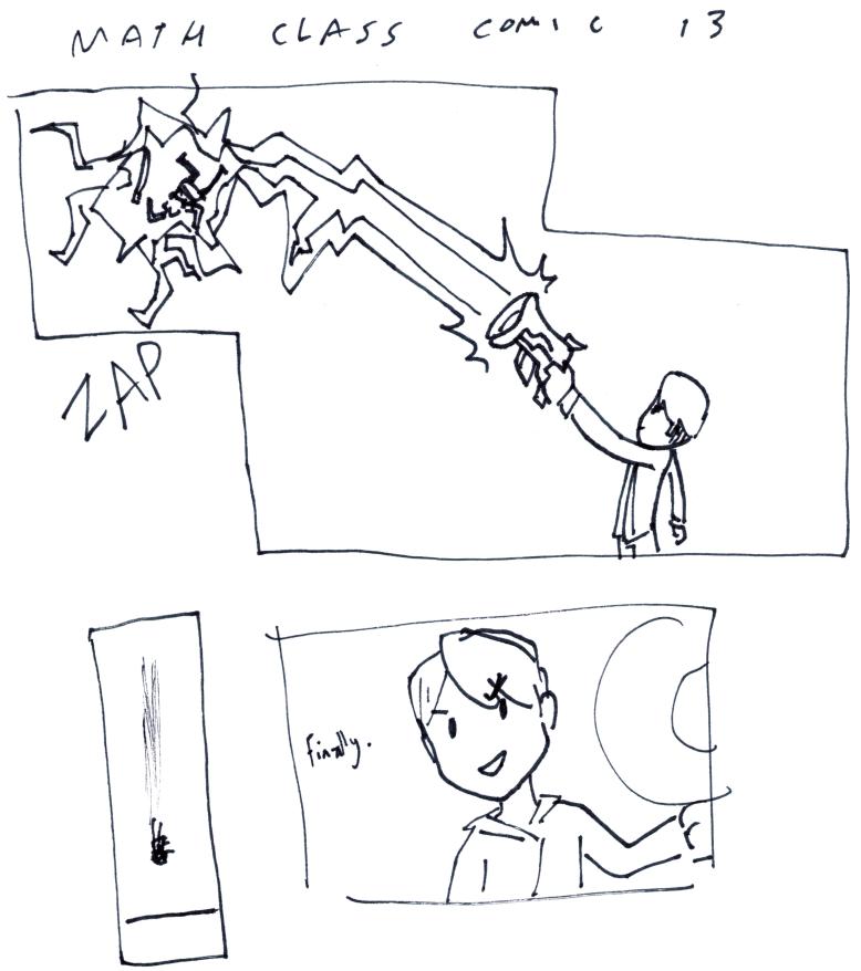 Math Class Comic 13