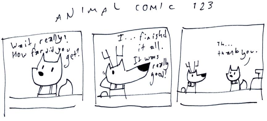 Animal Comic 123