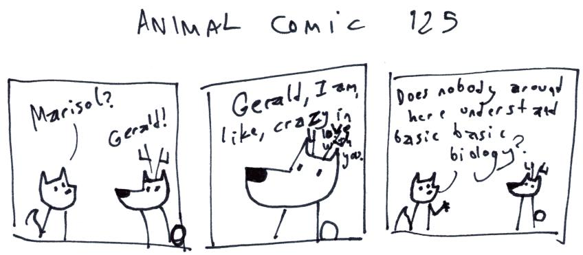 Animal Comic 125