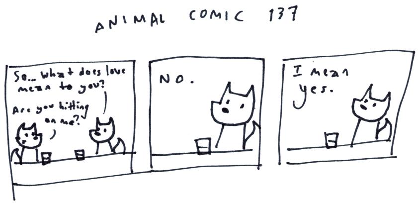Animal Comic 137
