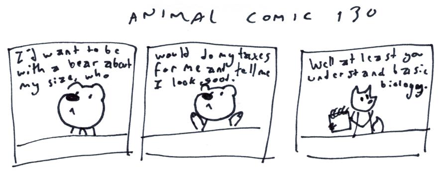 Animal Comic 130