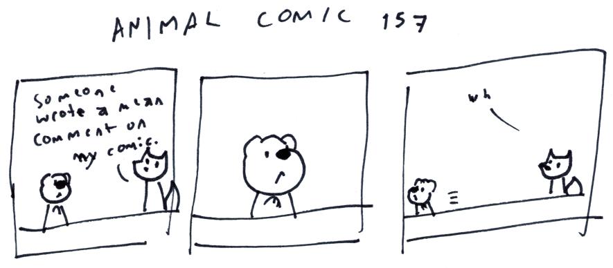 Animal Comic 157