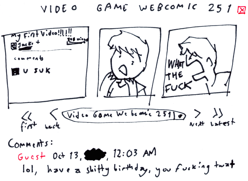 Video Game Webcomic 251