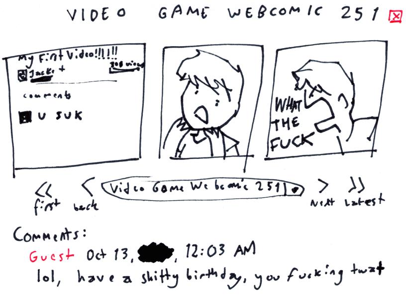 Video Game Webcomic 251