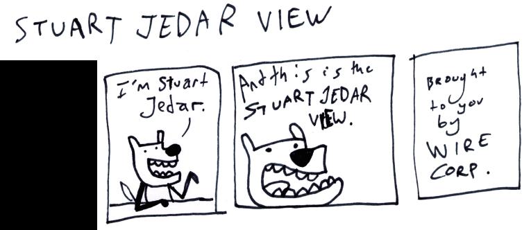 Stuart Jedar View