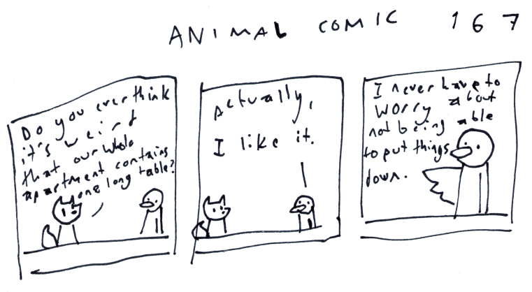 Animal Comic 167
