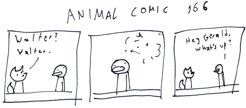 Animal Comic 166