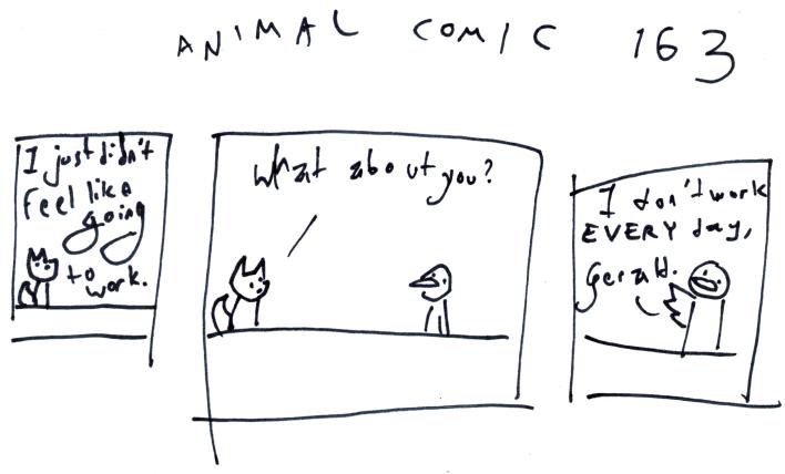 Animal Comic 163