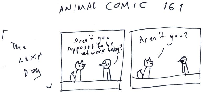 Animal Comic 161