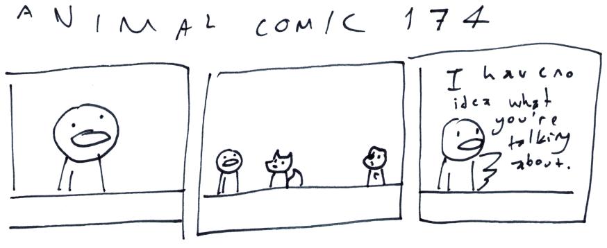 Animal Comic 174