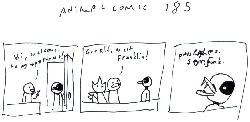 Animal Comic 185