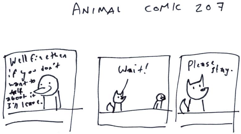 Animal Comic 207