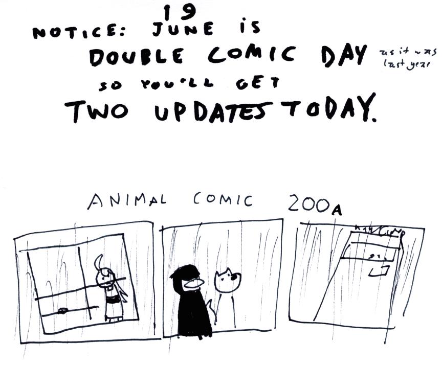 Animal Comic 200 A