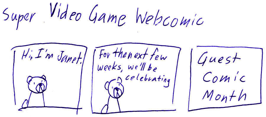 Super Video Game Webcomic