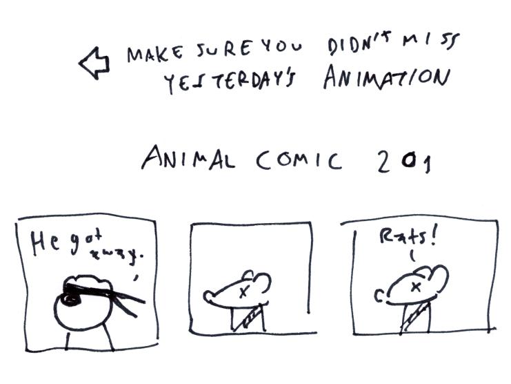 Animal Comic 201