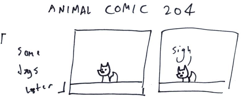 Animal Comic 204