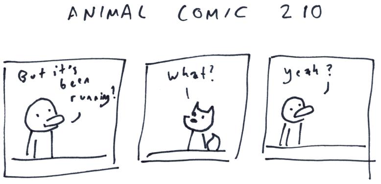 Animal Comic 210