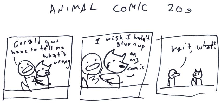 Animal Comic 209
