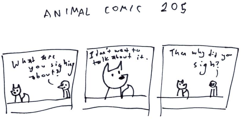 Animal Comic 205