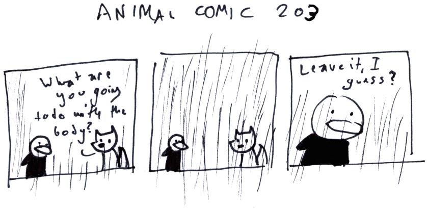 Animal Comic 203