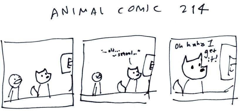 Animal Comic 214
