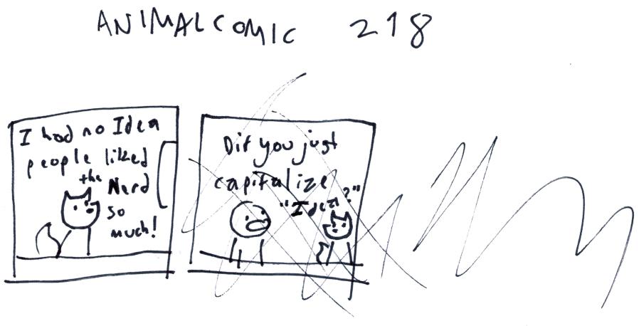 Animal Comic 218