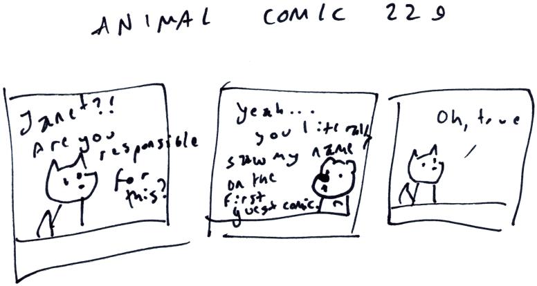 Animal Comic 229