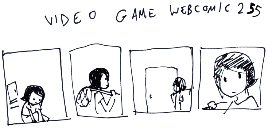Video Game Webcomic 255