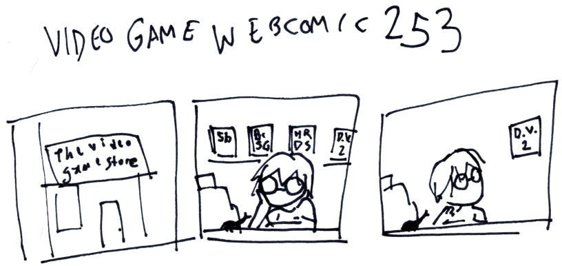 Video Game Webcomic 253