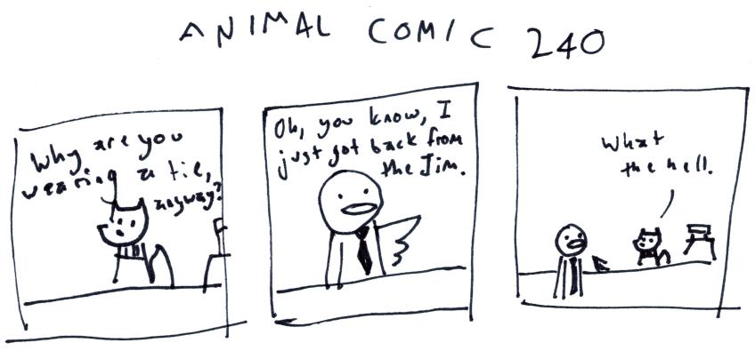 Animal Comic 240