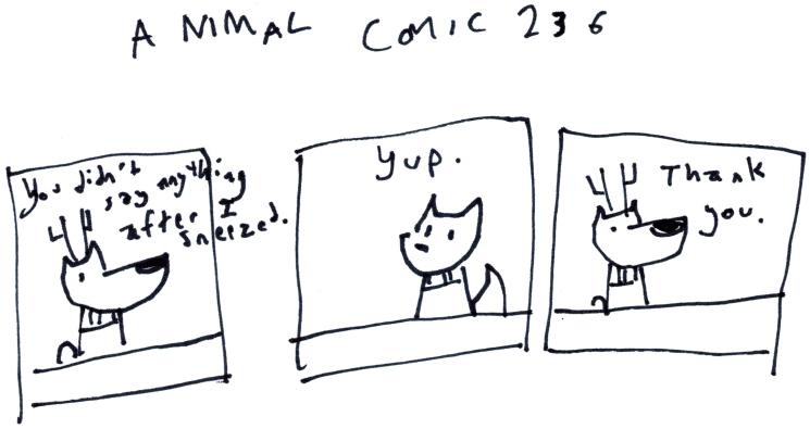 Animal Comic 236