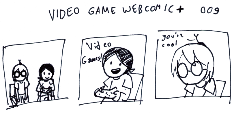 Video Game Webcomic+ 009