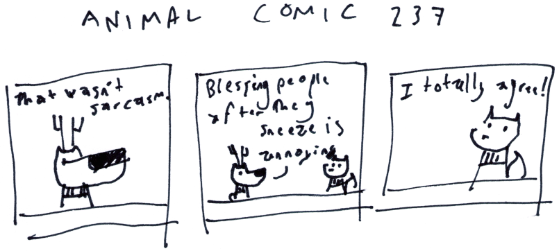 Animal Comic 237
