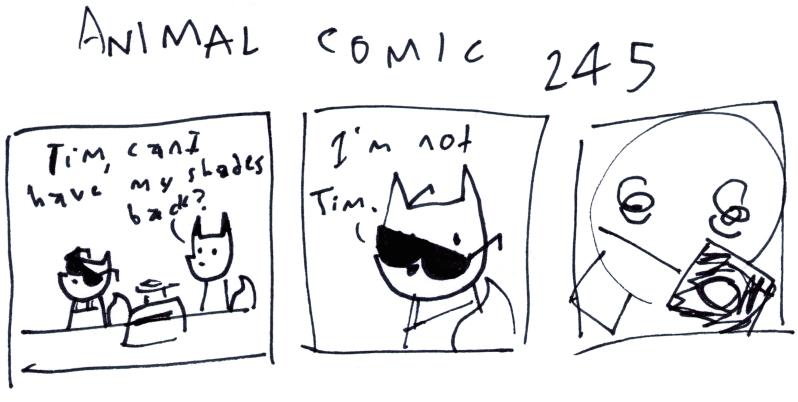 Animal Comic 245