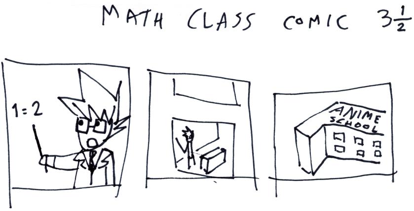 Math Class Comic 3¹⁄₂