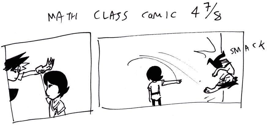 Math Class Comic 4⁷⁄₈