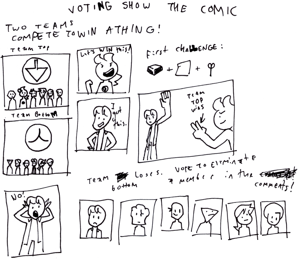 Voting Show the Comic