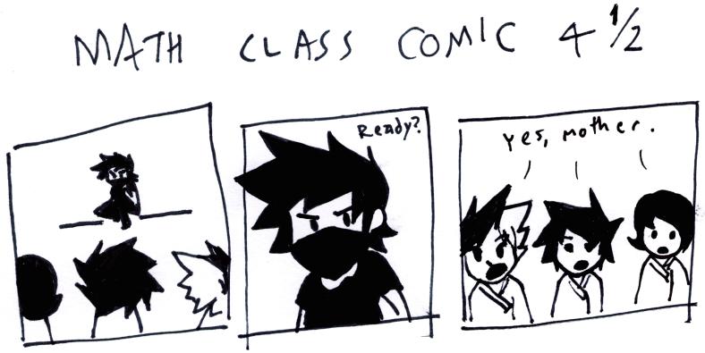 Math Class Comic 4¹⁄₂