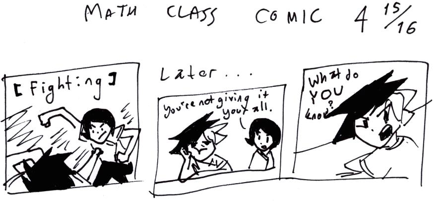 Math Class Comic 4¹⁵⁄₁₆