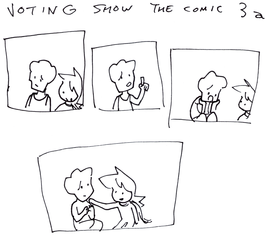 Voting Show the Comic 3a