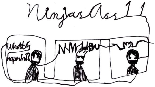 Ninjas Ass 11