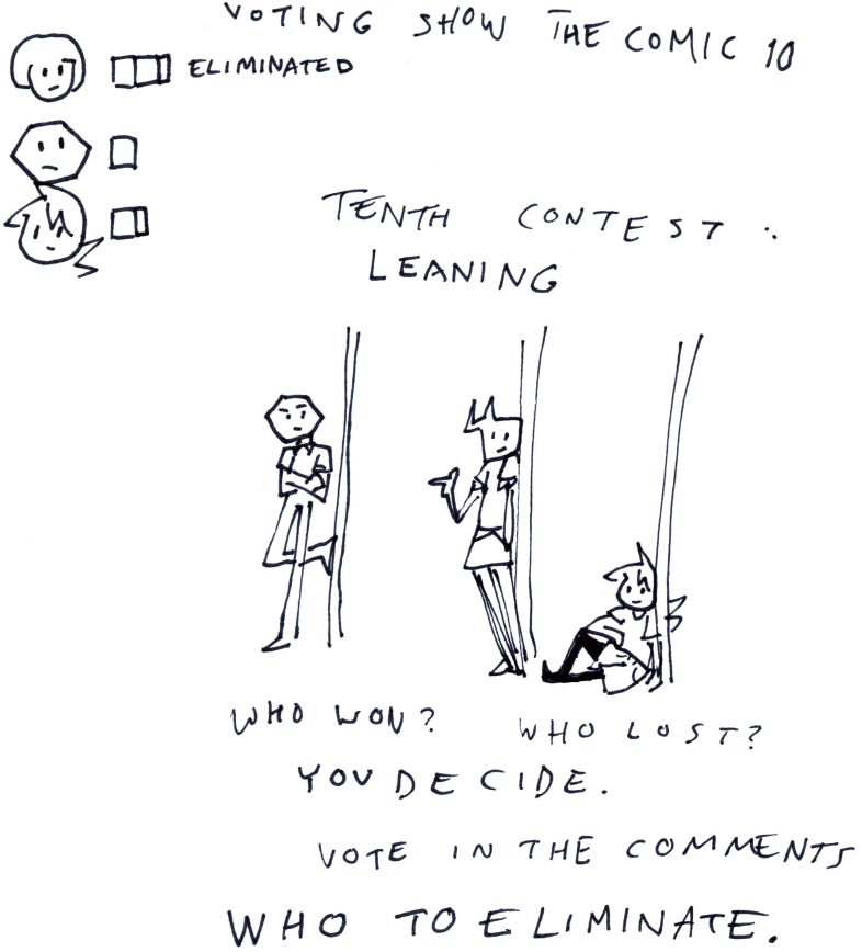 Voting Show the Comic 10