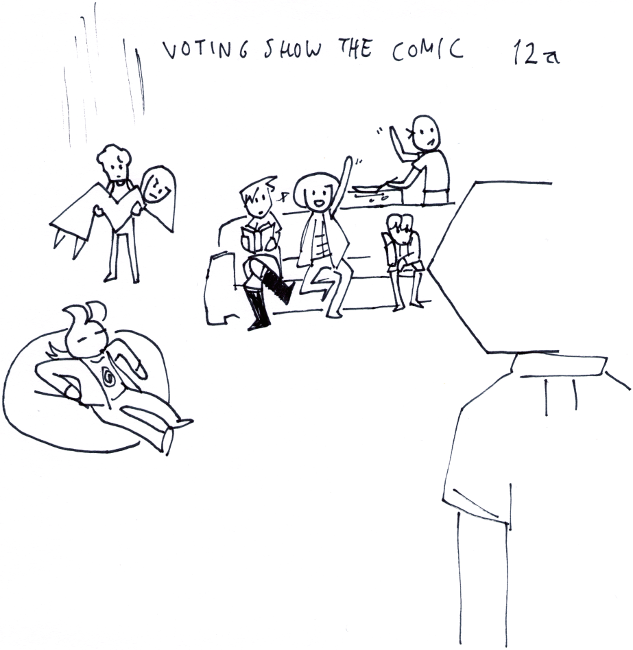 Voting Show the Comic 12a