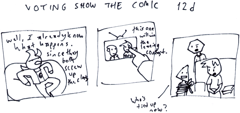 Voting Show the Comic 12d
