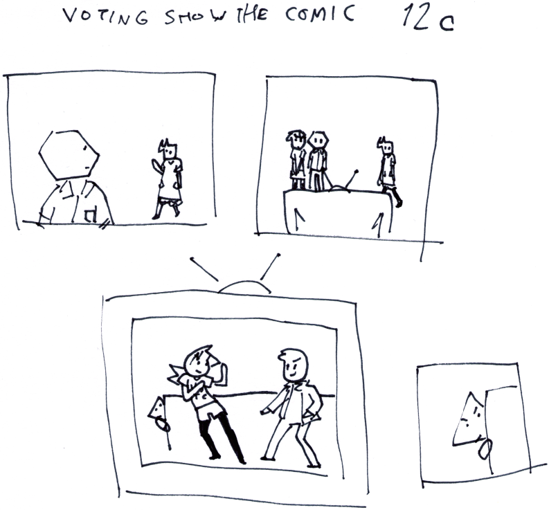 Voting Show the Comic 12c