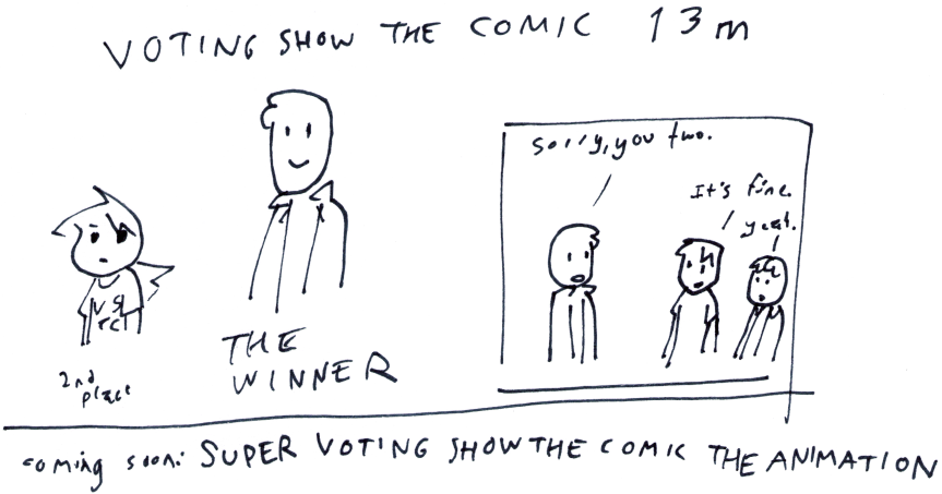 Voting Show the Comic 13m